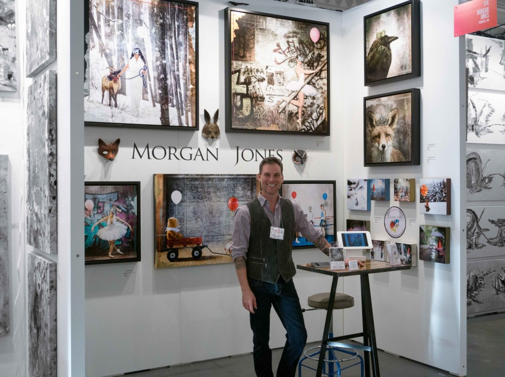 Artist Project Booth with Me